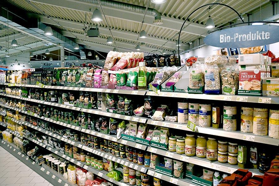 Bio-Produkte von EDEKA Eder